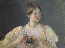 Mary Cassatt - The Cup Of Chocolate 1897