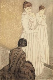 Mary Cassatt - The Fitting 1891
