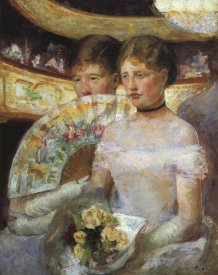 Mary Cassatt - The Loge 1882