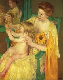 Mary Cassatt - The Mirror 1905