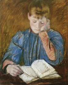 Mary Cassatt - The Pensive Reader 1894