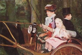Mary Cassatt - Woman And Child Driving 1879