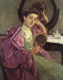 Mary Cassatt - Woman At Her Toilette 1909