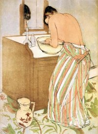 Mary Cassatt - Woman Bathing I 1891