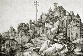 Albrecht Durer - St Anthony At The City