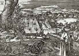 Albrecht Durer - The Cannon
