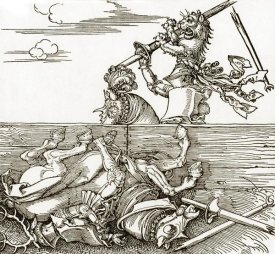 Albrecht Durer - The Foreign Tournament