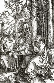 Albrecht Durer - The Hermits Sts Anthony And Paul