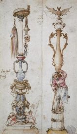 Albrecht Durer - Two Emblematical Designs For Columns
