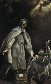 El Greco - Saint Franciss Vision Of The Flaming Torch