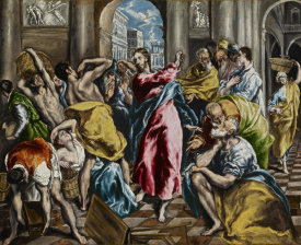 El Greco - The Purification Of The Temple