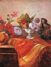 Paul Gauguin - Asters On A Bureau