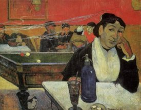 Paul Gauguin - Cafe At Arles