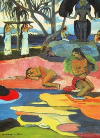 Paul Gauguin - Day Of The Gods Detail