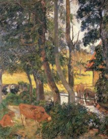 Paul Gauguin - Edge Of The Pond