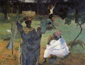 Paul Gauguin - Gathering Fruit