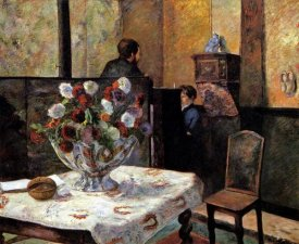 Paul Gauguin - Interior Rue Carcel