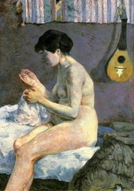 Paul Gauguin - Nude Study