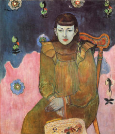 Paul Gauguin - Portrait Of A Girl