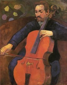 Paul Gauguin - Portrait Of Fritz Schneklud