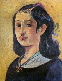 Paul Gauguin - Portrait Of The Artists Mother