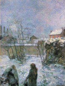 Paul Gauguin - Rue Carcel In Snow