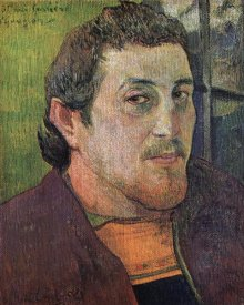 Paul Gauguin - Self Portrait Dedicated To Eugene Carriere