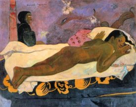 Paul Gauguin - Spirit Of The Dead Watching