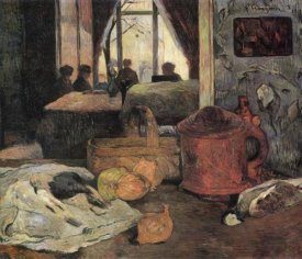 Paul Gauguin - Still Life In An Interior