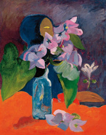 Paul Gauguin - Still Life With Flowers And Idol