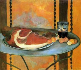 Paul Gauguin - Still Life With Ham