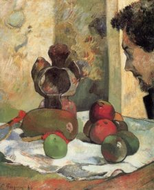 Paul Gauguin - Still Life With Profile Of Charles Laval