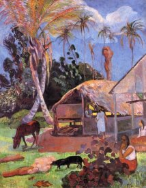 Paul Gauguin - The Black Pigs
