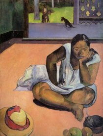 Paul Gauguin - The Brooding Woman