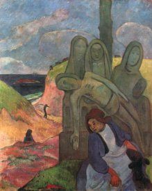 Paul Gauguin - The Green Chist