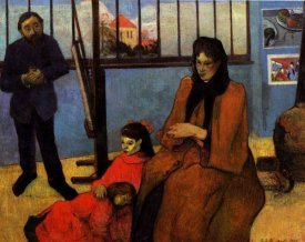 Paul Gauguin - The Schuffnecker Family