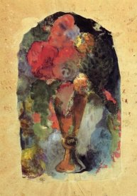 Paul Gauguin - Vase Of Flowers After Delacroix