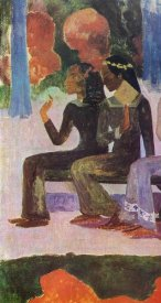 Paul Gauguin - We Shall Not Go To Market Detail 2