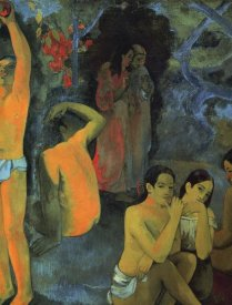 Paul Gauguin - Where Do We Come From Detail 1