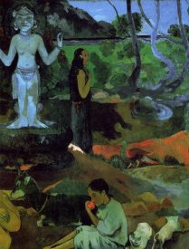 Paul Gauguin - Where Do We Come From Detail 2