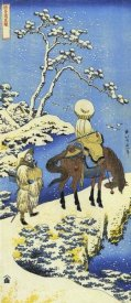 Hokusai - Rider In The Snow