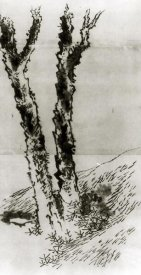 Hokusai - Two Trees 1830s