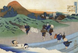 Hokusai - Washing In A River