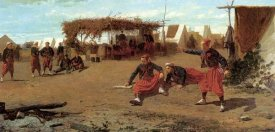Winslow Homer - Pitching Quoits