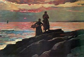Winslow Homer - Sunset Saco Bay