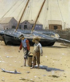 Winslow Homer - The Basket Of Clams 1873