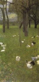 Gustav Klimt - After The Rain 1899