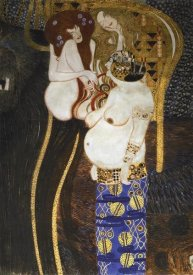 Gustav Klimt - Beethoven Frieze (detail 2)