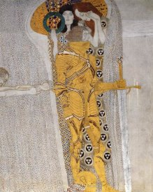Gustav Klimt - Beethoven Frieze (detail 3)