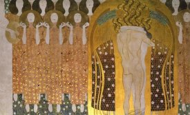 Gustav Klimt - Beethoven Frieze (detail)1902